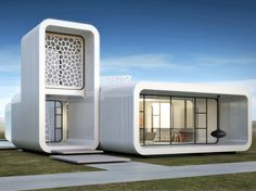 dubai, uae, united arab emirates, dubai architecture, dubai buildings, 3d-printed architecture, 3d-printed buildings, world's first 3d-printed office building, museum of the future, 3d printing
