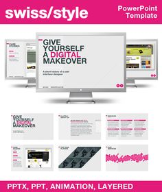 Editable powerpoint template business vision business concepts swiss style powerpoint template toneelgroepblik