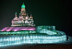 This past January of 2011, I had the awesome privilege to go to Harbin, China, where there is an entire city built of ice! It was one of the most brilliant things I have ever seen!