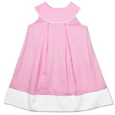 Monogrammable Pink Dress at www.thesmockedshop.com $26.25
