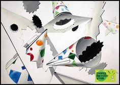 조유은작품 Design Art, Playing Cards, Display, Anime, Compost, Composition, University, Drawing, Painting