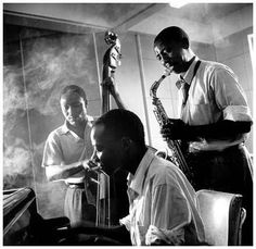 The Three Jazzomolos Johannesburg 1953 by J. Schadeberg