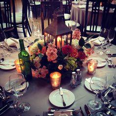 Garden inspired center pieces for this fun wedding at #CafeBrauer @tigerlilyevents #kloeckners #soundinvestment @goldcoastallstars @cp60605 @jenniefiala @lisawandel #weddingplanner #wedding #cafebrauerwedding #loveislivenitup