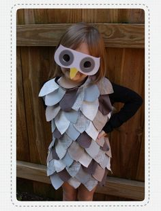 DIY: Owl Costume- I'm so excited for Halloween this year!!