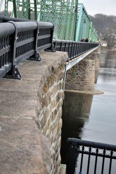 quaint Lambertville, NJ...& across the bridge is New Hope PA...near Washington Crossing National Historic Park
