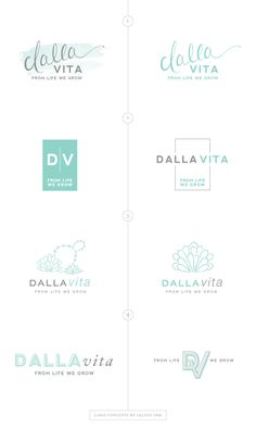 Logo Concepts | Process by Salted Ink | #brand #branding #logo #design #concepts
