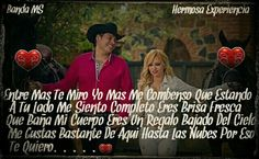 Banda MS - Hermosa Experiencia. Reminds me of our midnight dance @  home *