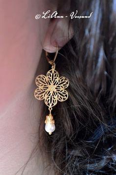 Ohrringe - ✿ Elfenflüstern ✿ Ohrringe - ein Designerstück von LiAnn-Versand bei DaWanda
