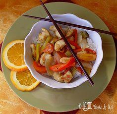Orange Chicken & Stir Fry Veggies