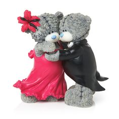 Me to You Me to You 1-Piece Tatty Teddy Collectible Figurine, Titled Let's Dance