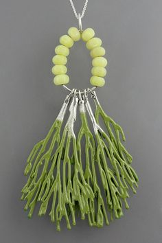 Seaweed Necklace, by Sarah Hood