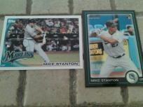 8 florida marlins rookie baseball cards lot #2 nice...