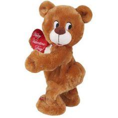 "Dancing Musical Bear Plush Toy - Plays ""Stitches"" Valentine Teddy Bear #DancingMusicalBear"