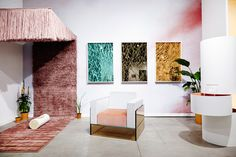 Our booth at Collective Design spotlights new work by five studios on the rise: Bower x Studio Proba, Chris Wolston, Only Love Is Real, and Fort Makers.