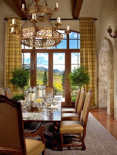 Tuscan-inspired home on the Aspen mountains