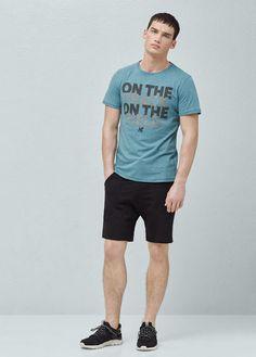 T-shirts pour Homme | MANGO Man France