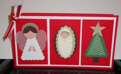 Stampin' Up!  Punch Art  Elizabeth Rush  Christmas