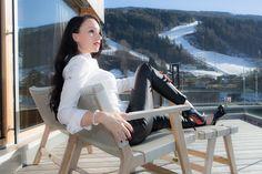 Lederhose und weisse Bluse - Leather pants with white blouse and Louboutins #fashionblog #fashionblogger #deutsch #leder