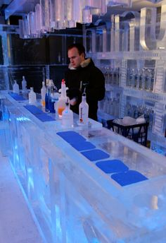 Minus 5 Ice Bar...went there when we went to Vegas. It is so awesome definitely going back!