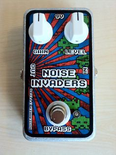 Noisemaker Effects Noise Invaders Fuzz Pedal by NoisemakerEffects, $70.00