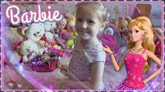 Видео для дете Мама с дочкой играют в куклы барби Mom and daughter play...