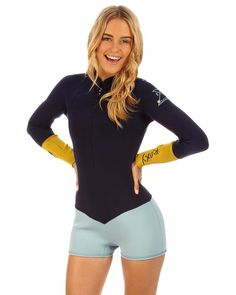 KASSIA MEADOR 2MM LONG SLEEVE SPRINGSUIT WETSUIT $140