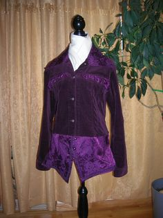 Jacket Coat Steampunk style  purple by TheHummingbirdKisser, $185.00