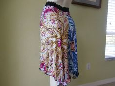 Milonga Tango & Salsa Skirt  fits US  2 to 6  by COCOsDANCEWEAR