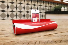 "Coca Cola : Magazine Amplifier  ""JWT turns a magazine into an amplifier for Coca Cola FM"""