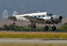 Photographed landing at Hollister Municipal Airport where it was on static display during the Father's Day weekend airshow.