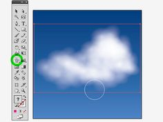Adobe Illustrator Tuitorial: Realistic-ish Clouds