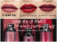 JANUARY CUSTOMER KUDOS!  Crushing on Your Kiss - $60  This crush loves you back. Introducing our innovative MOODSTRUCK CRUSH™ lip powder, an instant powder-to-cream color wonder. You can find this Brand New product here: https://www.youniqueproducts.com/JenBenoit/products/kudos #Younique #Lipstick #Kudos #Casual #Captivating #Curvaceous