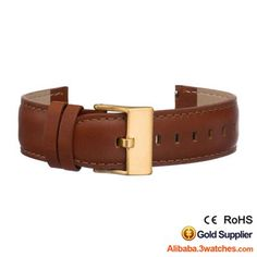 Natural Genuine leather Watches Strap 3W-S-L13, click picture to designs your own brand watch.