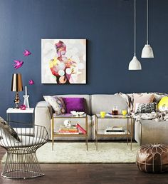 HappyModern.RU | Краска для стен: (40 фото) палитра душевного равновесия | http://happymodern.ru