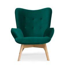 Znalezione obrazy dla zapytania fotel uszak zielony