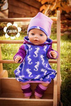 """Dieses Mal gibt es im raxn-Blog etwas völlig Neues zu sehen: nämlich Puppenkleidung! Genäht nach dem Ebook """"Puppenliebe"""" von der"""