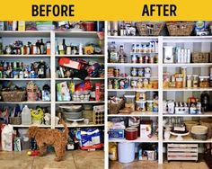kitchen deisgn,home design,home Home Organization Hacks, Kitchen Organization, Organising Tips, Organizar Closet, Acrylic Containers, Lampe Retro, Bomb Shelter, Declutter Your Home, Home Hacks