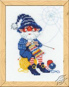 Stitch after stitch - Cross Stitch Craft Kits by RIOLIS - HB123