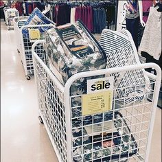 Massing Matching Mobile Bulk Bin Merchandising makes a powerful statement that something is on sale. A bit of extra aisle signage of the range of.