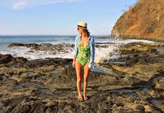 Beach vibes: One-piece bathing suit from forever 21