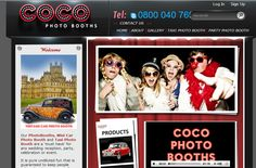 Innovative photo booth in taxi! Getting more and more popular.   www.cocophotobooths.co.uk