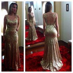 Modelos de vestidos longos - Mais Estilosa