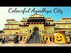 Colourful Ayodhya City    Ram Mandir Bhumi Pujan    Ram Mandir Nirmaan - YouTube
