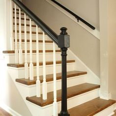 Carpet to Wood Staircase Reveal