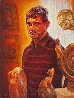 Андреевцы-74. Юрий Малыгин, скульптор, керамист