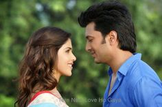 Genelia and Ritesh (From TERE Naal Love Ho Gaya)