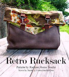 EmmylouBeeDoo!: A Retro Rucksack!