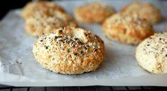 KREMET FISKESUPPE MED LAKS OG TORSK - Bakekona Bagels, Muffin, Bread, Breakfast, Food, Morning Coffee, Brot, Essen, Muffins