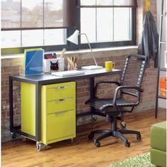 metal desk coolness cb2 cb2 office