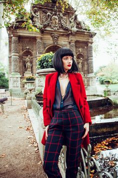 #photo @baksanorbert #fashion #paris #Luxembourg #garden #shootbynorbertbaksa